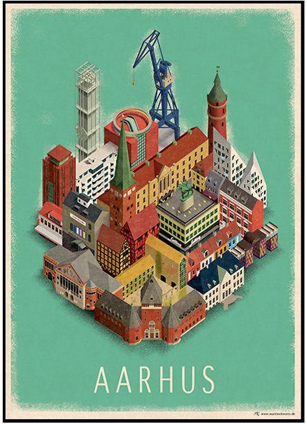 Aarhus Poster - Martin Schwartz