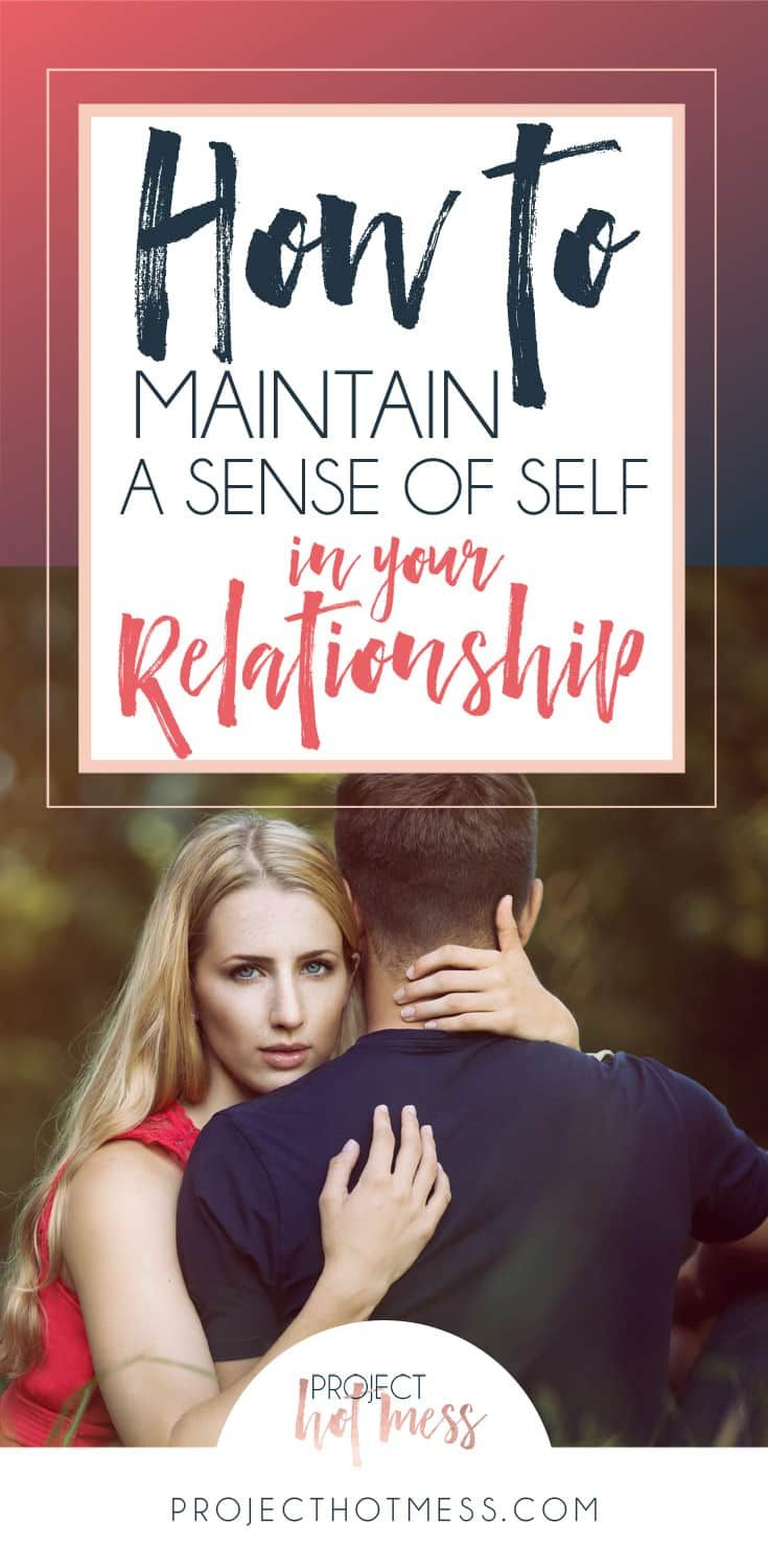 When you start a relationship it's so easy to get caught up in the hype, you become a couple, not individuals. So how do you maintain a sense of self in your new relationship?