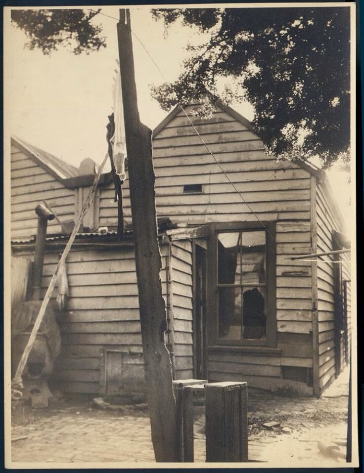 Richmond house in 1947