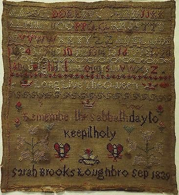 EARLY-MID-19TH-CENTURY-ALPHABET-MOTIF-SAMPLER-BY-SARAH-BROOKS-1839