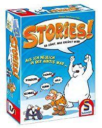 Stories ist ein super lustiges und kommunikatives Partyspiel für 2 -10 Spieler ab 8 Jahren