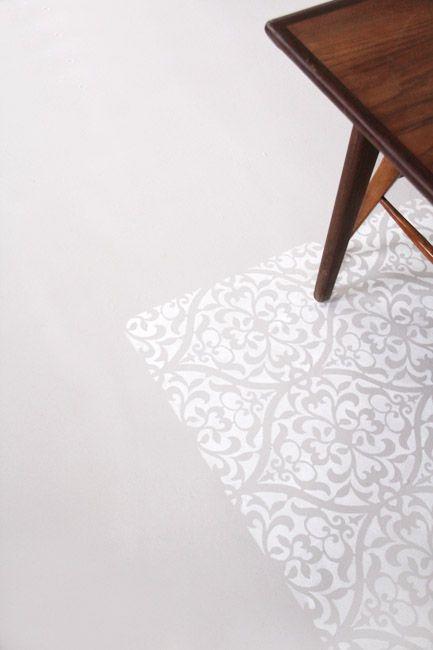 réagréage auto-lissant + primaire d'accrochage + peinture extreme 2 couches
