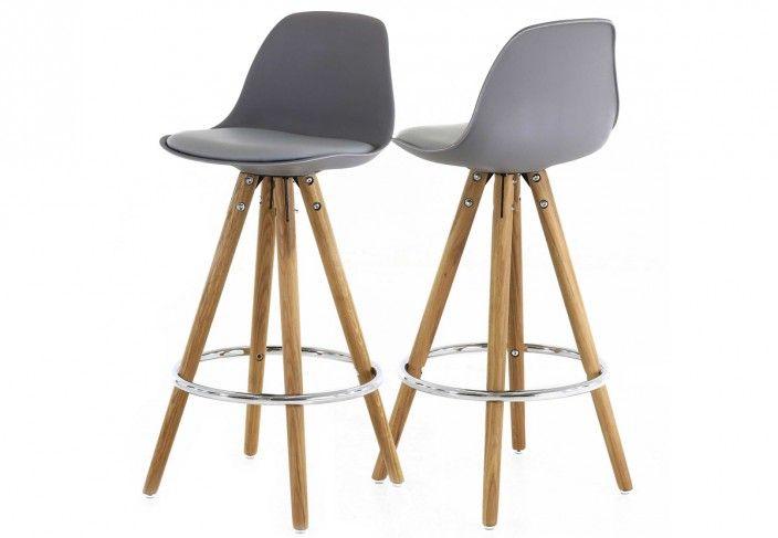 Lot de 2 chaises de bar : POPSY