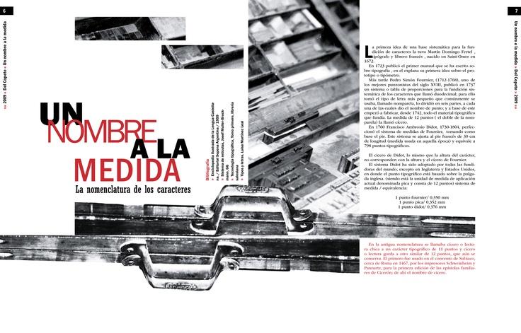 Trabajo final - Tipografía II - Cátedra Gaitto - Revista de la Cátedra - 6-7