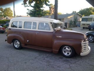1950 Chevy Suburban.