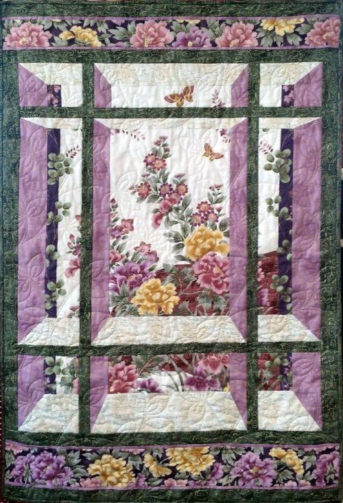 Window pane window pane quilt pattern for Window pane quilt design