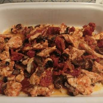 Ricetta Pollo ai Pomodori Secchi e Olive (Cartoccio+Varoma) pubblicata da silk2205 - Questa ricetta è nella categoria Secondi piatti a base di carne e salumi