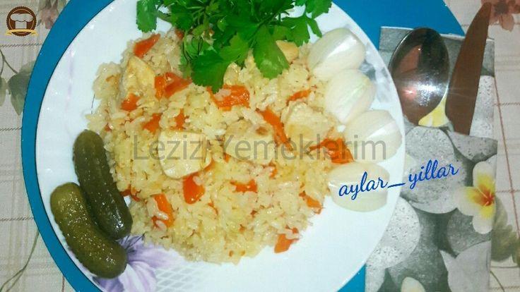 Tavuklu Türkmen Pilavı