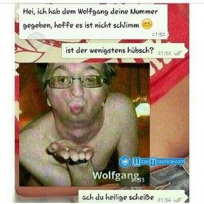 Lustige WhatsApp Bilder und Chat Fails 97 - Wolfgang