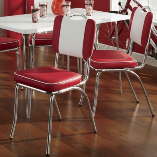 34 best vintage chrome table and chairs images on Pinterest