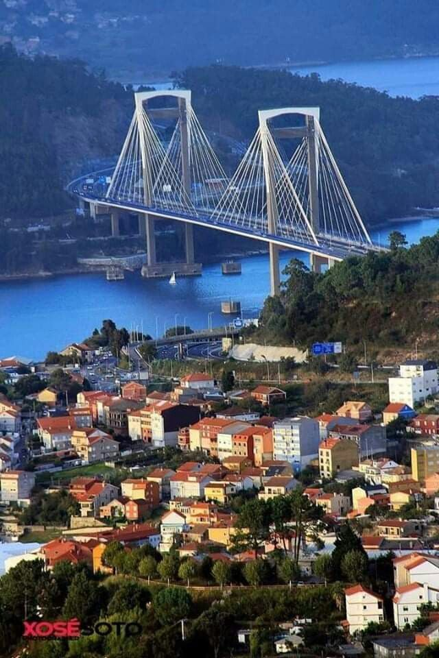 Vigo Pontevedra Comunidad De Galicia España Paisajes De España Vigo España Imagenes De Ciudades