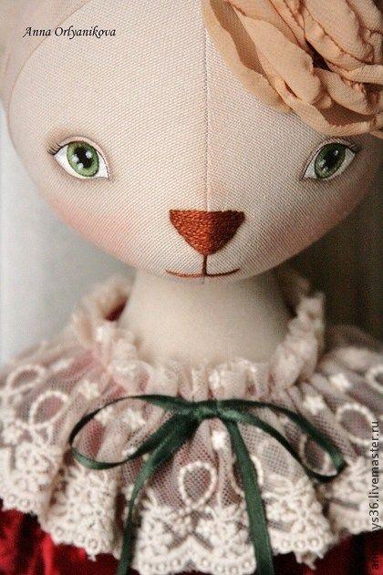Коллекционные куклы ручной работы. Ярмарка Мастеров - ручная работа Кошка…