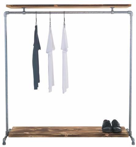 Kaufe Deine Neuen Kleiderständer Hier! Bei Ziito Produzieren Wir  Kleiderschränke In Industriellen Looks Für Das Moderne Zuhause. Ein  Moderner Klassiker.