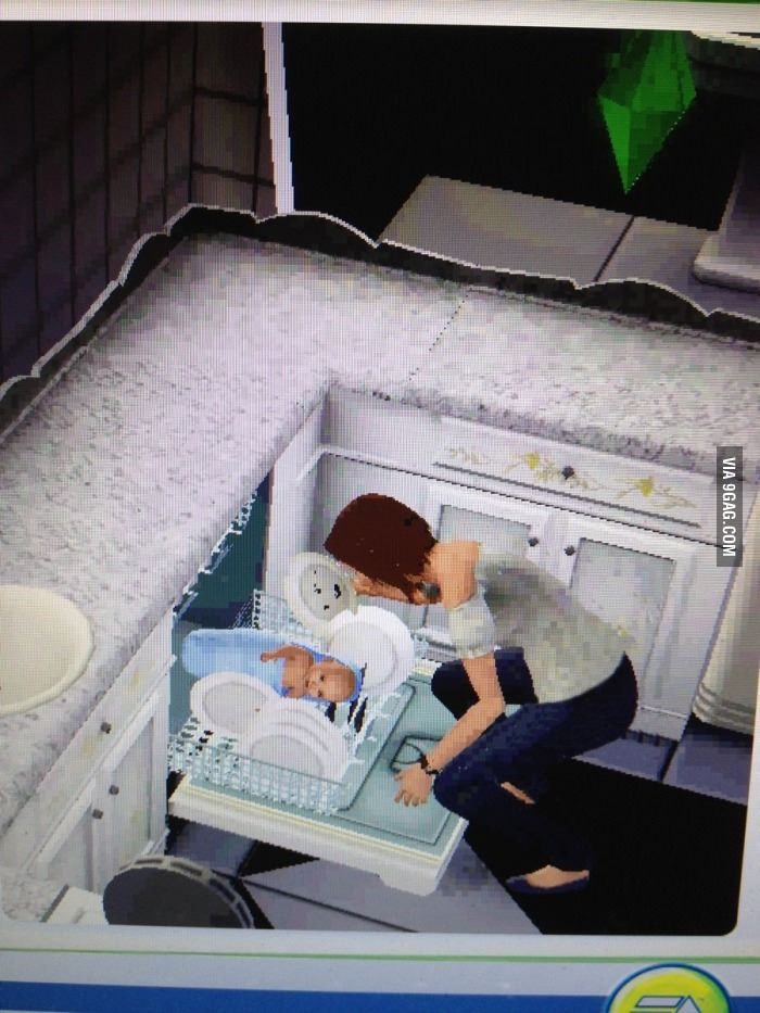 Parenting level: Sims @Polythene Pam Whenever I see the sims doing something outrageous I think of you. HAHA