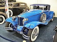 1930 Cord L-29 - The Cords are arguably among the most beautiful cars made.