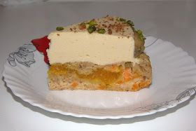 Через тернии к тортам: Тыквенный торт с сабайоном с белым шоколадом