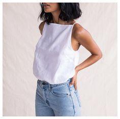 cute white tank | curated by ajaedmond.com | capsule wardrobe | minimal chic | minimalist style | minimalist fashion | minimalist wardrobe | back to basics fashion