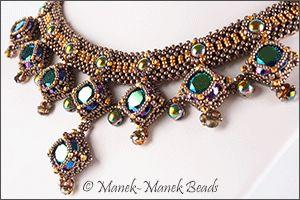 Drina Victoria : Manek-Manek Beads - Jewelry | Kits | Beads | Patterns