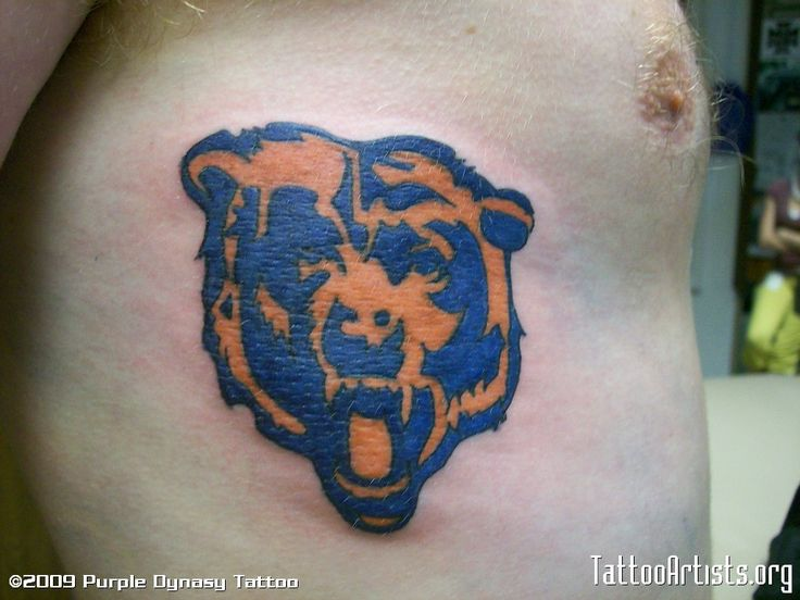 chicago bears tattoos | Chicago Bears - Tattoo Artists.org