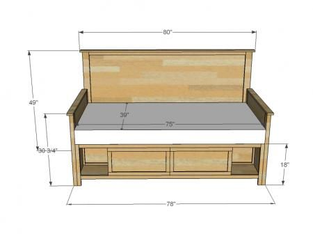 1000 Ideas About Full Size Storage Bed On Pinterest
