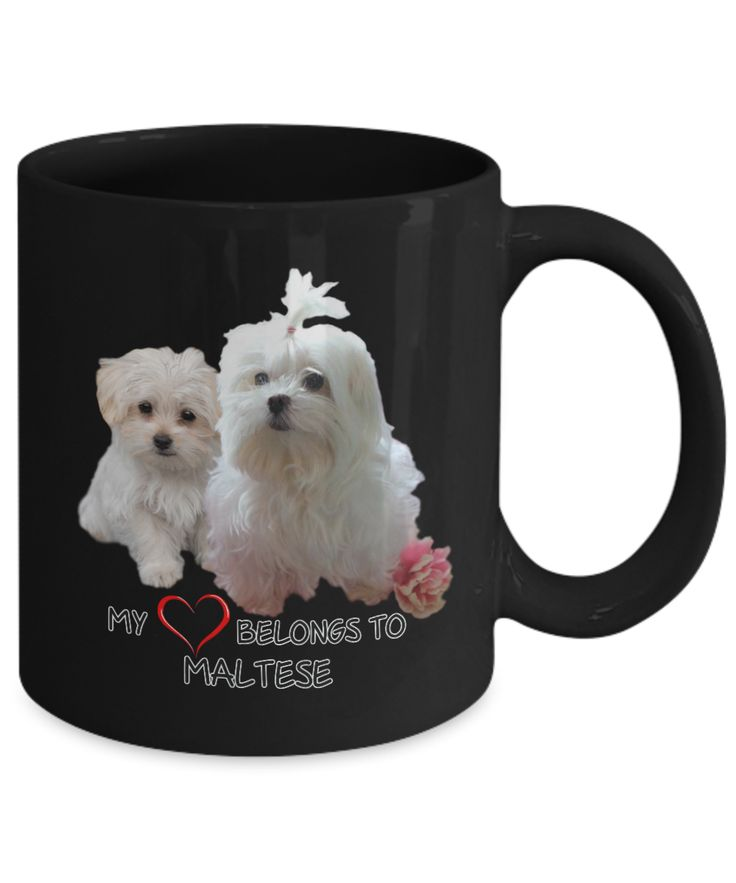 My heart belongs to Maltese mug...