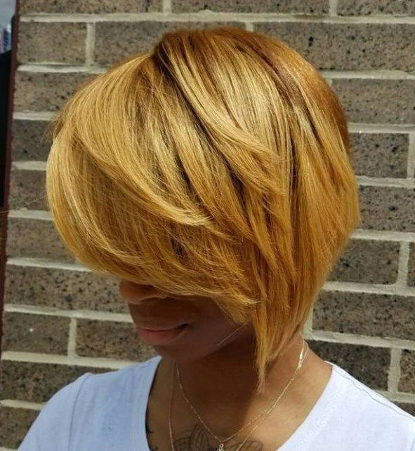 50 Most Captivating African American Short Hairstyles Blonde