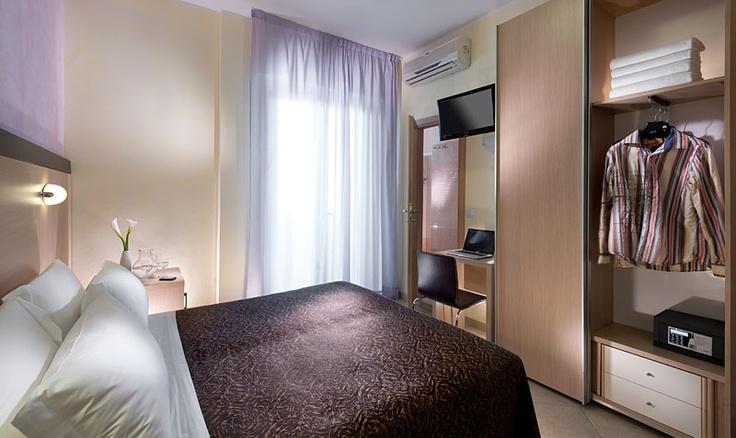 Hotel RUBENS Rimini. Camera matrimoniale Superior.