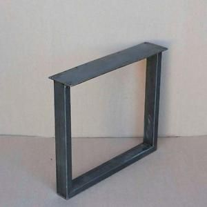 Metal Table Leg, U Or X Shape Tube Table Legs, Bench Legs, Cast Table Base, Cast  Iron Dining Table Legs