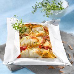 Papillote de poisson et légumes de saison. Plus de recettes sur : www.bridelight.fr/les-recettes #Bridelight