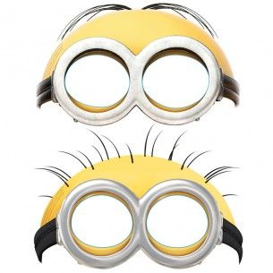 Minions Party Masks - Minions - Party Themes A-Z - Kids' Party