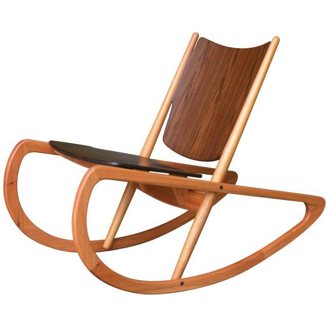 mader rocking chairs with veneered wood for occasional chair in a living room or bedroom designed