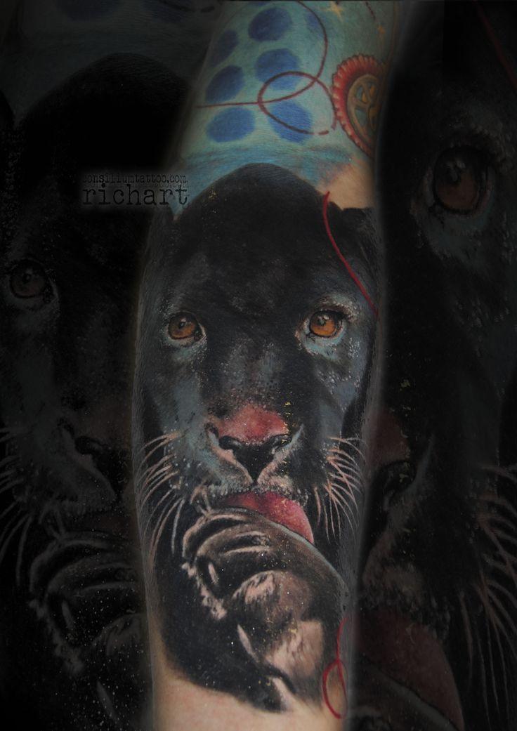 TATUAJE PANTERA NEGRA TATTOO CONSILIUM TATTOO VILASECA TARRAGONA CALALUNYA ESPAÑA diciembre 04, 2017 Consilium Tattoo Color 2015, 2016, 2017, animales, antebrazo, barcelona, black and grey, brazo tatuado, brazos tatuados, catrina, color, consilium, consilium tattoo, consiliumtattoo, consiliun tattoo, españa, felinos, grises, guepardo, ink, jaguar, leopardo, mejores tatuajes, monocromo, pantera negra, ppantera, realismo, retrato, richart, richart moreno, richart_tattoo, spain, studio…