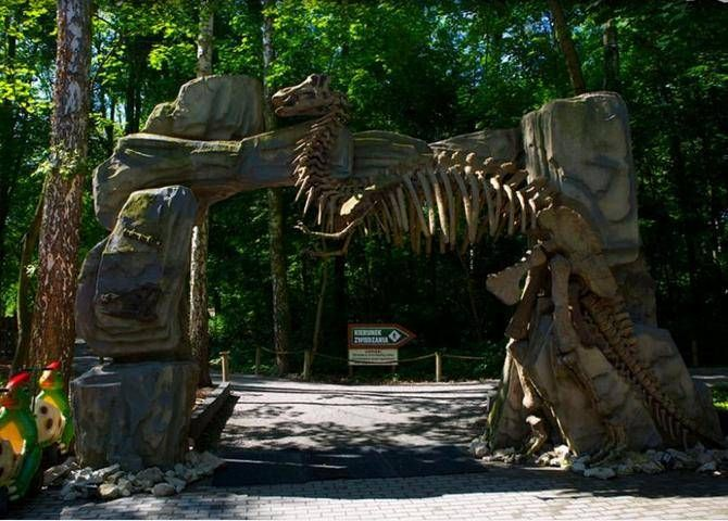 Pomysł na weekend - Dino Park w Malborku Znaleźć w nim można ścieżkę edukacyjną prowadzącą przez prehistoryczny świat dinozaurów czy laserowy tor przeszkód. Więcej na: http://www.nocowanie.pl/noclegi/malbork/parki_rozrywki/139507/