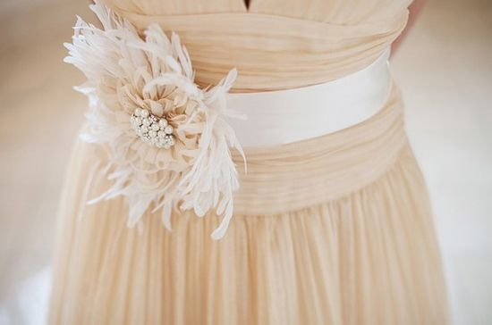 110 best images about feather wedding ideas on pinterest for Feather wedding dress davids bridal