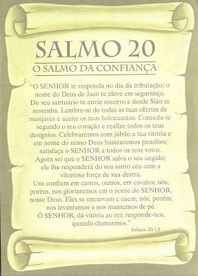 Maysa Cartomante: O poder do Salmo 20