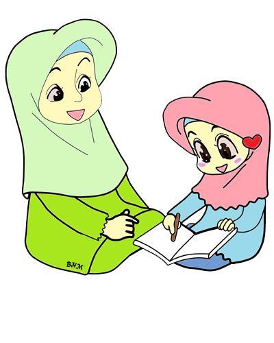 58 best doodle muslimah images on Pinterest