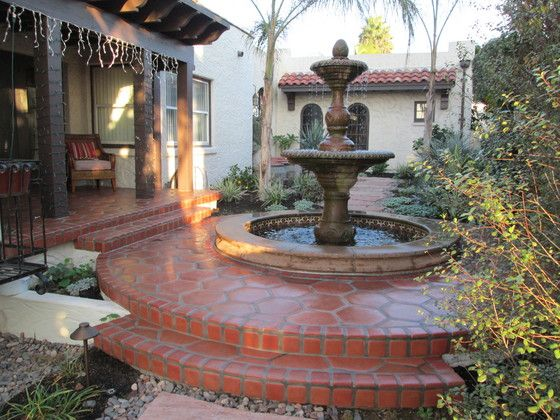 lincoln paver photo u0026 cantera stone fountain picture image