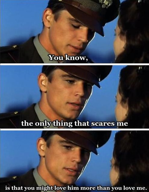 Pearl Harbor - This movie makes me cry everytime, but it's suchhhh a good movie <3