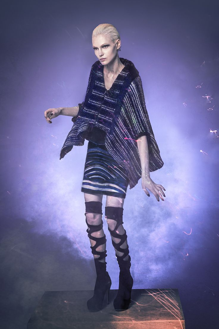 Shima Seiki Collection - Night Beam  Fashion Designer : Kay Chan Technical Engineer: Roger Chan , SSHKTSS Photographer: Ricky Lo Booklet: Olivia Chiu,Kay Chan  Makeup stylist: Seifert Cheung Hairstylist: ChiLing Model: G  Seamless Knitwear by Shima Seiki WholeGarment