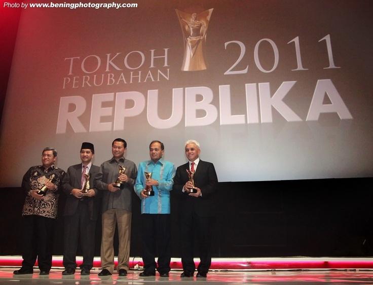 Heppy Trenggono dinobatkan sebagai Tokoh Perubahan 2011