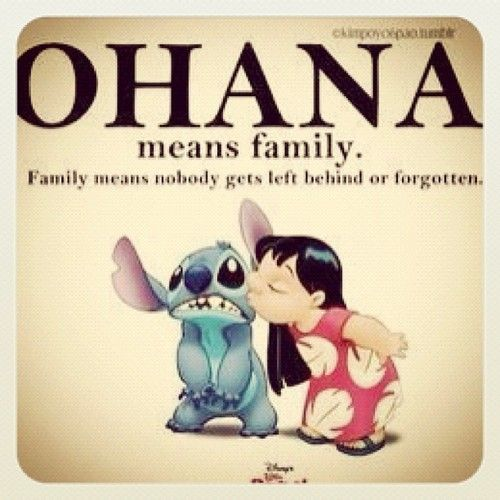 Lilo & Stitch <3Disney Movies, Lilo Stitches, Disney Quotes, Remember This, Dogs Names, Lilo And Stitch, A Tattoo, Left Behind, Families Mottos