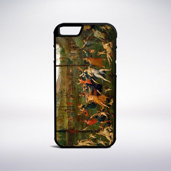 Pietro Perugino - Combat Of Love And Chastity Phone Case – Muse Phone Cases