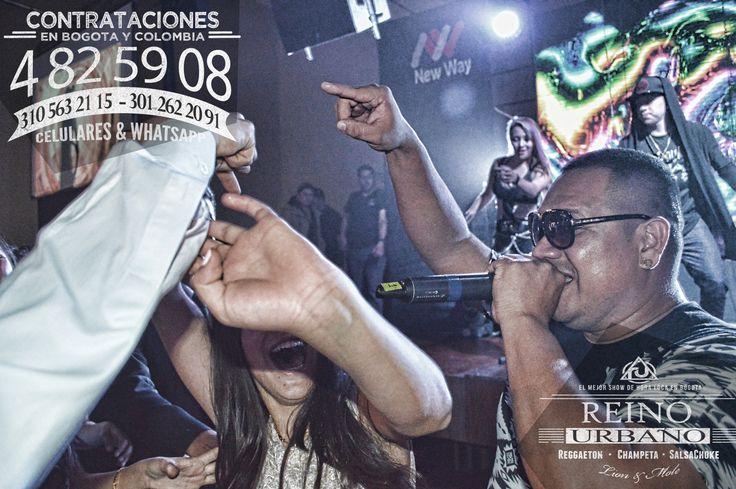 El Show Urbano para todo tipo de Publico. #MCM El Mejor #Show de #Reggaeton , #Champeta y #SalsaChoke de #Bogota y #Colombia.  REINO URBANO, 7 Años líderes en la produccion de #Horaloca Urbana para #15Años, #Matrimonios y #eventosEmpresariales en Bogota y Colombia. #TBT   Contrataciones en Bogota y Colombia  EULICES ALBAÑIL CORTES Brand Manager Cel. 3105632115 - 3012622091 WhatsApp. 3105632115 - 3012622091 Tel & Fax. (091) 4825908 www.showreggaeton.com  #WCW #Concert #Summer #Night #Glamour