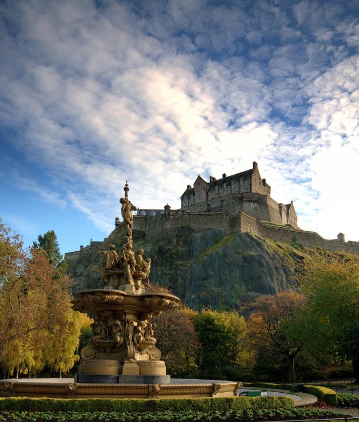 I want to return to Edinburgh someday...