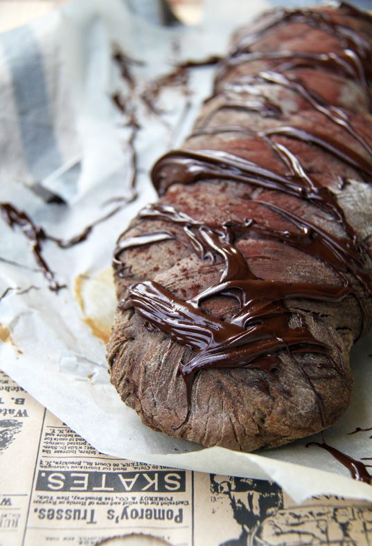 "My Lovely Food: Pan de chocolate para ""La Recepeta del 15"""