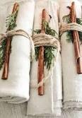 Napkin decorations