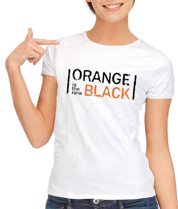 Orange Is The New Black Netflix Geek Ladies Tee Shirt TShirt on Etsy, £11.98