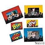 Superhero Magnetic Picture Frames