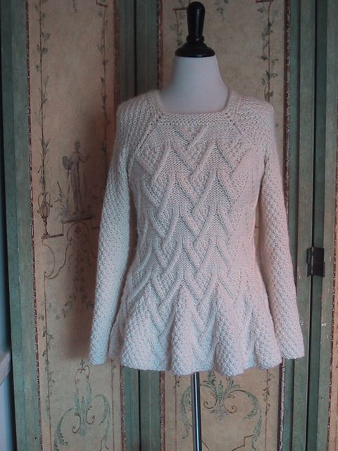 FREE knitting pattern for pullover sweater: Rambler