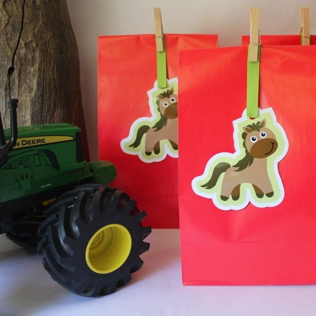 Horse Paper Party Bags